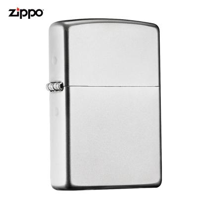 zippo之寶打火機美國原裝ZIPPO防風煤油打火機205緞紗205-042585