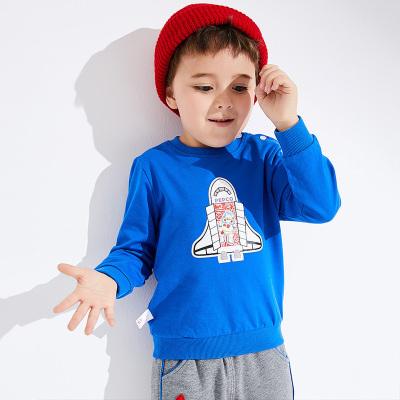 小猪班纳童装男宝宝卫衣2019秋季新款男童长袖T恤休闲套头上衣棉