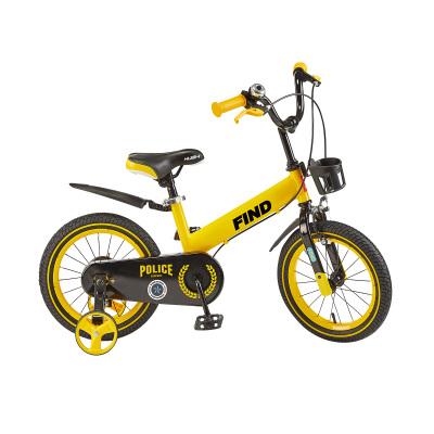 荟智(Huizhi)儿童自行车12/14/16寸男孩女孩小孩2-3-5-7岁宝宝单车脚踏车山地车童车HB01