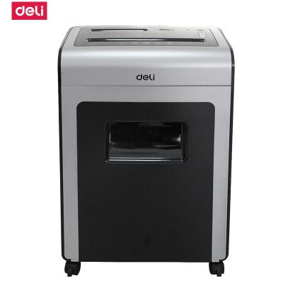 得力deli9914碎纸机 多功能 办公用 离子净碎纸机可碎光盘 纸满报警