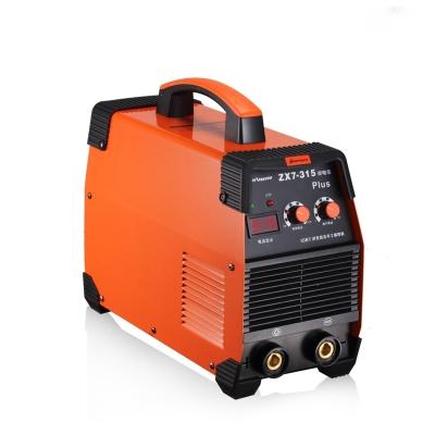 315电焊机工业级双电压220V380V家用小型两用直流全铜焊机 315双电压工业款套餐二