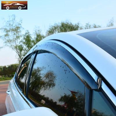 專用于豐田18款八代凱美瑞8六6改裝汽車配件擋雨板車窗晴雨擋雨眉