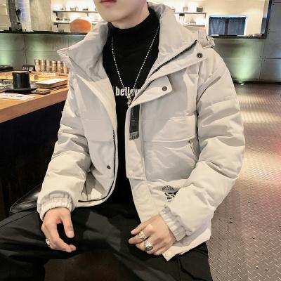 墨尔斯特(MO ER SI TE)2019冬季新款保暖男士连帽棉衣棉服青少年休闲韩版外套潮男DS572