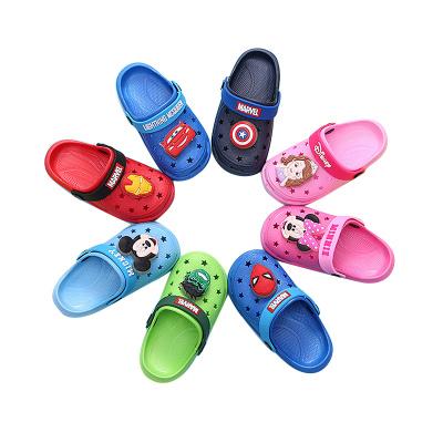 迪士尼(Disney)2020新款童鞋兒童運動鞋個性寶寶家居家用鞋室內家居防滑外出旅游泳涼拖鞋洞洞鞋