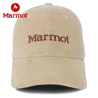 Marmot/土撥鼠戶外休閑可調松緊遮陽帽上期色7156