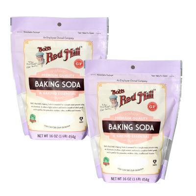 美國原裝進口 鮑勃紅磨坊(Bob'sRedMill) Soda無麩質無鋁小蘇打食用烘焙清潔果蔬去污漬454gx2