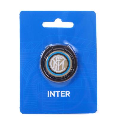 国际米兰俱乐部官方新品通用手机迷你支架金属环旋转通用