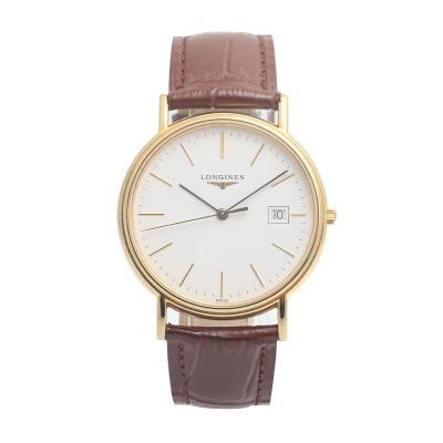 【二手95新】浪琴LONGINES優雅系列L4.790.2.12.2男表石英奢侈品鐘手表腕表