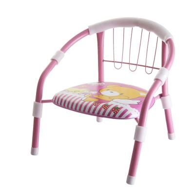 魔童儿童加厚靠背小椅子宝宝凳子卡通叫叫椅婴儿安全小板凳 粉色