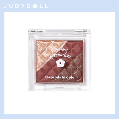 Judydoll橘朵 三色巧克力拼盤眼影 2.5g