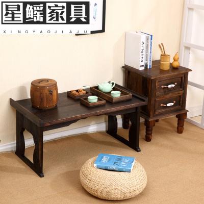 榻榻米茶几家用矮桌茶桌小炕桌折叠飘窗桌阳台桌子小茶几日式