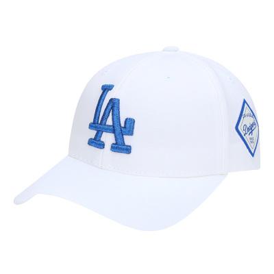 MLB正品棒球帽情侶款鴨舌帽子可調節嘻哈帽子LA男女帽NY遮陽帽休閑運動帽