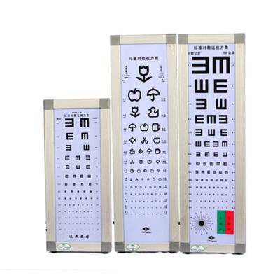 遠燕(YuanYan)視力表成人2.5米視力表燈箱醫用家用孩子圖案版對數測視力眼科查視力 LED (送遮眼板+指揮棒)