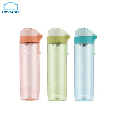 樂扣樂扣(Lock&Lock) 馬卡龍運動水杯 夏天塑料杯子 便攜隨手杯ins簡約男女學生