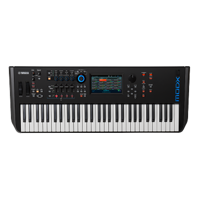 YAMAHA 雅馬哈合成器MODX6/7/8 專業音樂制作編曲全配重鍵盤MOXF升級