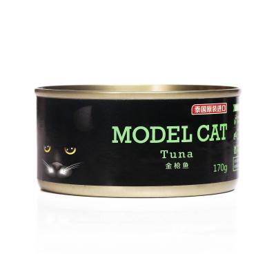 麦富迪猫罐头麦富迪模特猫罐头170g-金枪鱼+鲭鱼幼猫零食营养增肥湿粮
