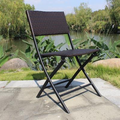 尋木匠折疊藤椅子戶外室外庭院陽臺花園休閑咖啡餐椅農莊純手工燒烤