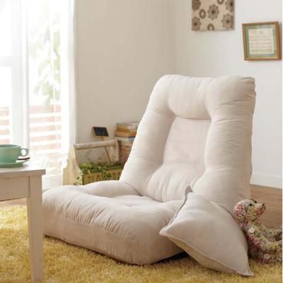 唐臻床上懶人沙發榻榻米單人小沙發折疊臥室無腿飄窗靠背椅可拆洗日式