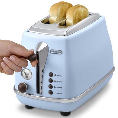 德龍(DeLonghi)Delonghi/德龍CTO2003多士爐全自動烤面包機早餐 多色可選