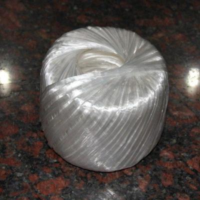 廢紙打包繩閃電客塑料繩子捆扎繩打包繩捆綁撕裂帶尼龍繩球全新料 白色-全新料-150克