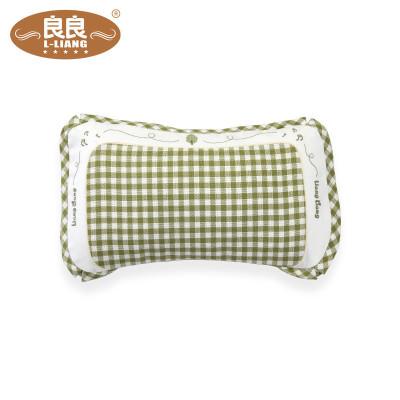 良良 LLA01-1G 嬰幼兒護型保健枕寶寶枕頭嬰兒枕(0-3歲)綠 41.5*24.5cm