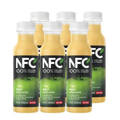 農夫山泉100%NFC純果汁冷壓榨蘋果汁300mlX6