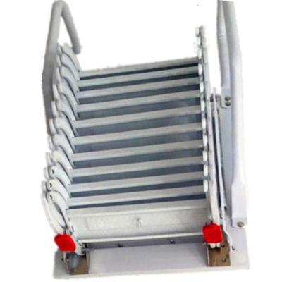 戶式貼墻壁折疊伸縮升降樓梯室內閣樓復式隔層平臺收納爬梯子定制 加強加厚鈦鎂合金2.5m-3m