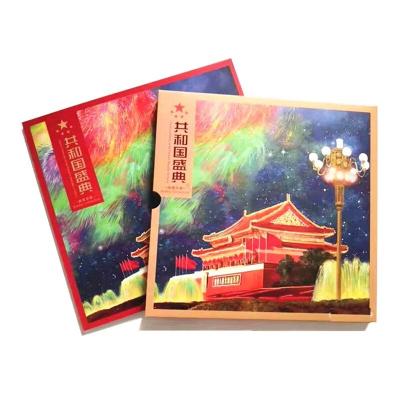 東方金典】中華人民共和國成立70年 建國70年紀念郵票 大版小版小型張套票 郵冊 共和國盛典紀念郵冊 70年紀念郵票大版