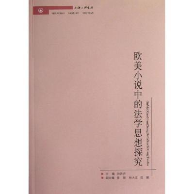 歐美小說中的法學思想探究9787542640628上海三聯書店孫達丹