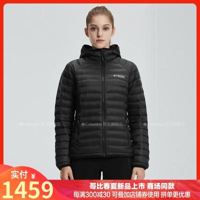 2019秋冬哥倫比亞戶外女防水3D熱能800蓬鵝絨羽絨服WR0185