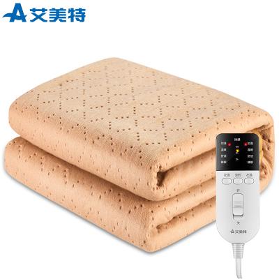 艾美特(Airmate)電熱毯 電褥子(1.8*1.5米) 雙人雙控電熱褥 4檔溫控電褥毯 無紡布 過熱斷電 防潮除螨