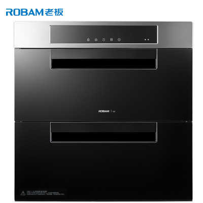 老板(ROBAM)100L大容量臭氧杀菌嵌入式消毒柜 ZTD100B-727消毒碗柜