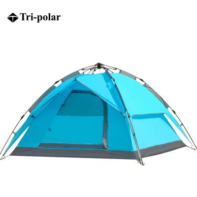 三極戶外(Tripolar) TP2117 速開帳篷戶外免搭建3-4人自動野外露營自駕套裝野營加厚防水帳篷