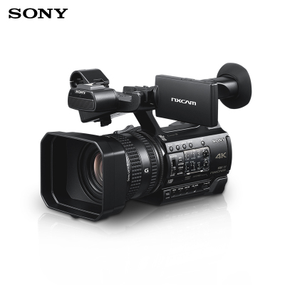 索尼(SONY)HXR-NX200 專業數碼攝像機 手持攝錄一體機套餐 約1420萬像素 3.5英寸顯示屏
