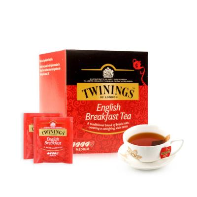 波兰进口 川宁(TWININGS) 茶叶红茶茶包 英国川宁英式早餐红茶 10包*2g 20g/盒