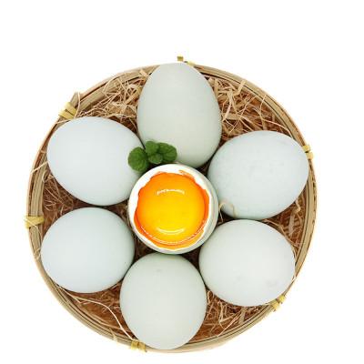 农谣 新鲜绿壳乌鸡蛋30枚 单枚约50g 绿壳蛋