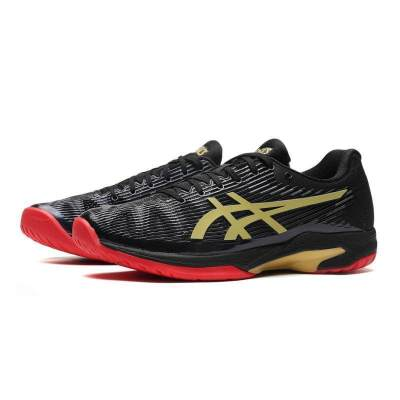 ASICS男網球鞋2019新款SOLUTION SPEED網球運動鞋1041A054-001