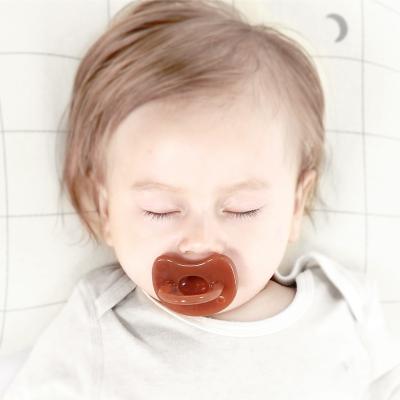 babycare嬰兒安撫奶嘴硅膠 安睡型超軟0-6-18個月兒寶寶奶嘴4M-12M Y305