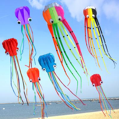 百斯媚無骨軟體章魚風箏大型高檔立體成人兒童微風易飛大特大超級大巨型