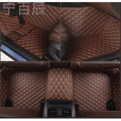 領克01改裝用品新款全大包圍皮革專用腳墊汽車內飾用品改裝配件