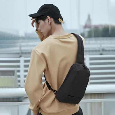 90分都市單肩斜挎包男簡約多功能男士時尚出行胸包助力地攤經濟 擺攤神器