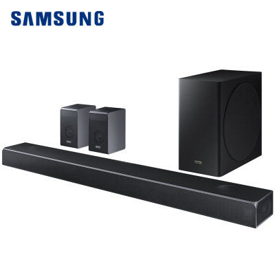三星 SAMSUNG HW-Q90RXZ 三星&哈曼7.1.4CH 杜比全景聲 DTS:X 家庭影院 回音壁 電視音響