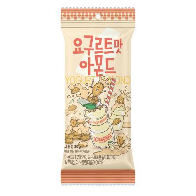 【酸甜乳酸菌味】汤姆农?。═om's Farm)乳酸菌味扁桃仁 30g/袋 进口坚果 巴旦木 杏仁 休闲零食 韩国进口