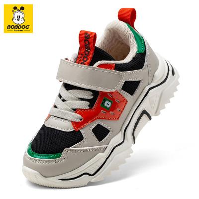 巴布豆BOBDOG HOUSE童鞋秋季新款儿童运动鞋男童女童休闲中大童潮鞋跑步鞋休闲鞋B9394