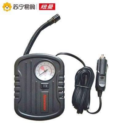 紐曼車載充氣泵C11黑色 12V車載應急點煙器接口小轎車輪胎電動氣泵胎壓表便攜式汽車用充氣