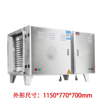低空油煙凈化器古達6000風量商用廚房飯店餐飲燒烤排放目測無煙 升級版低空10000風量油煙凈化器