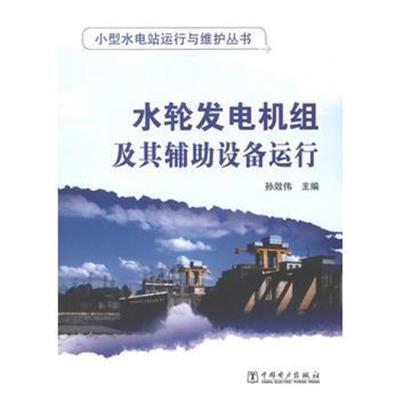 小型水電站運行與維護叢書 水輪發電機組及其輔助設備運行 9787512335813