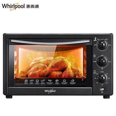 惠而浦(Whirlpool)电烤箱WTO-SP301G 30L大容量60分钟定时四档温控立体加热家用烤箱