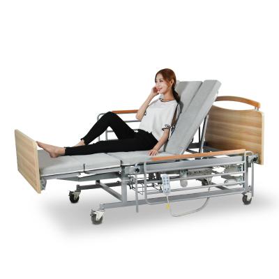 邁德斯特(MAIDESITE)護理床 禮至款MD-E06 電動癱瘓病人家醫用多功能升降老人床翻身醫院病床(手電三折翻身)