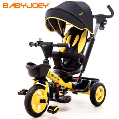 童車手推車 英國Babyjoey 兒童三輪車腳踏車寶寶自行車1-3-5歲雙向坐躺 總裁